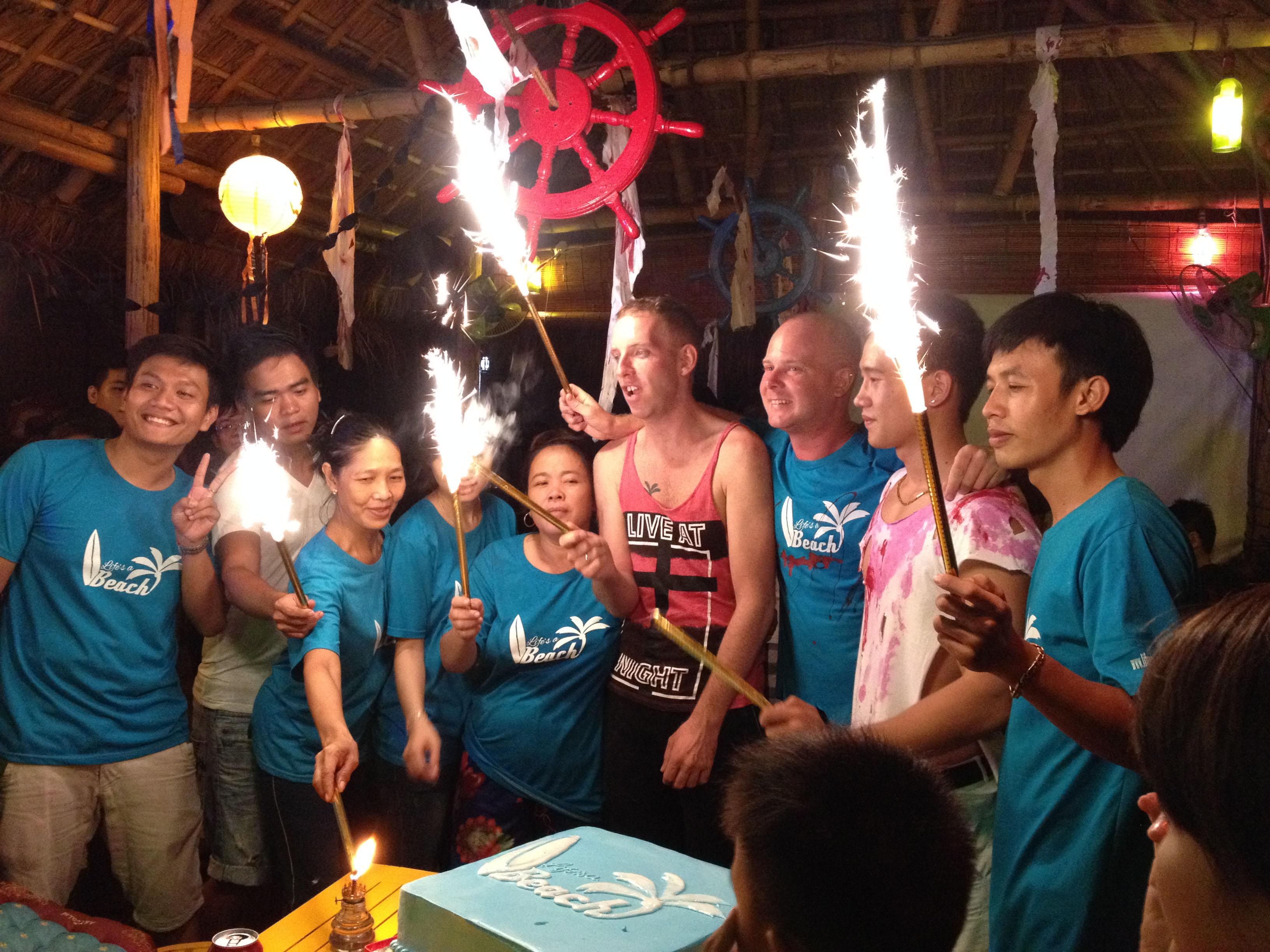 Happy Birthday Life's a Beach Vietnam