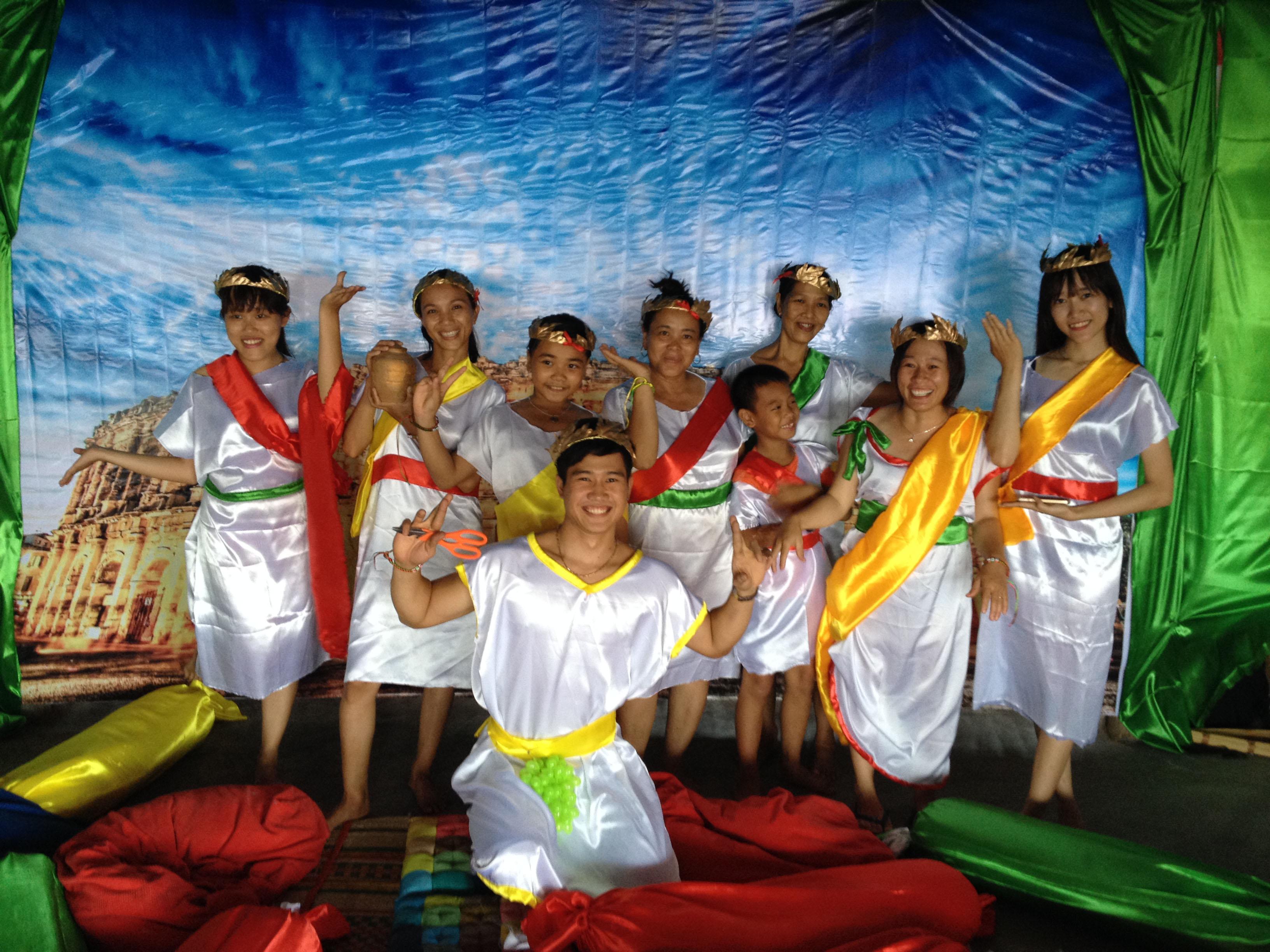 Life's a Beach Vietnam Toga Party