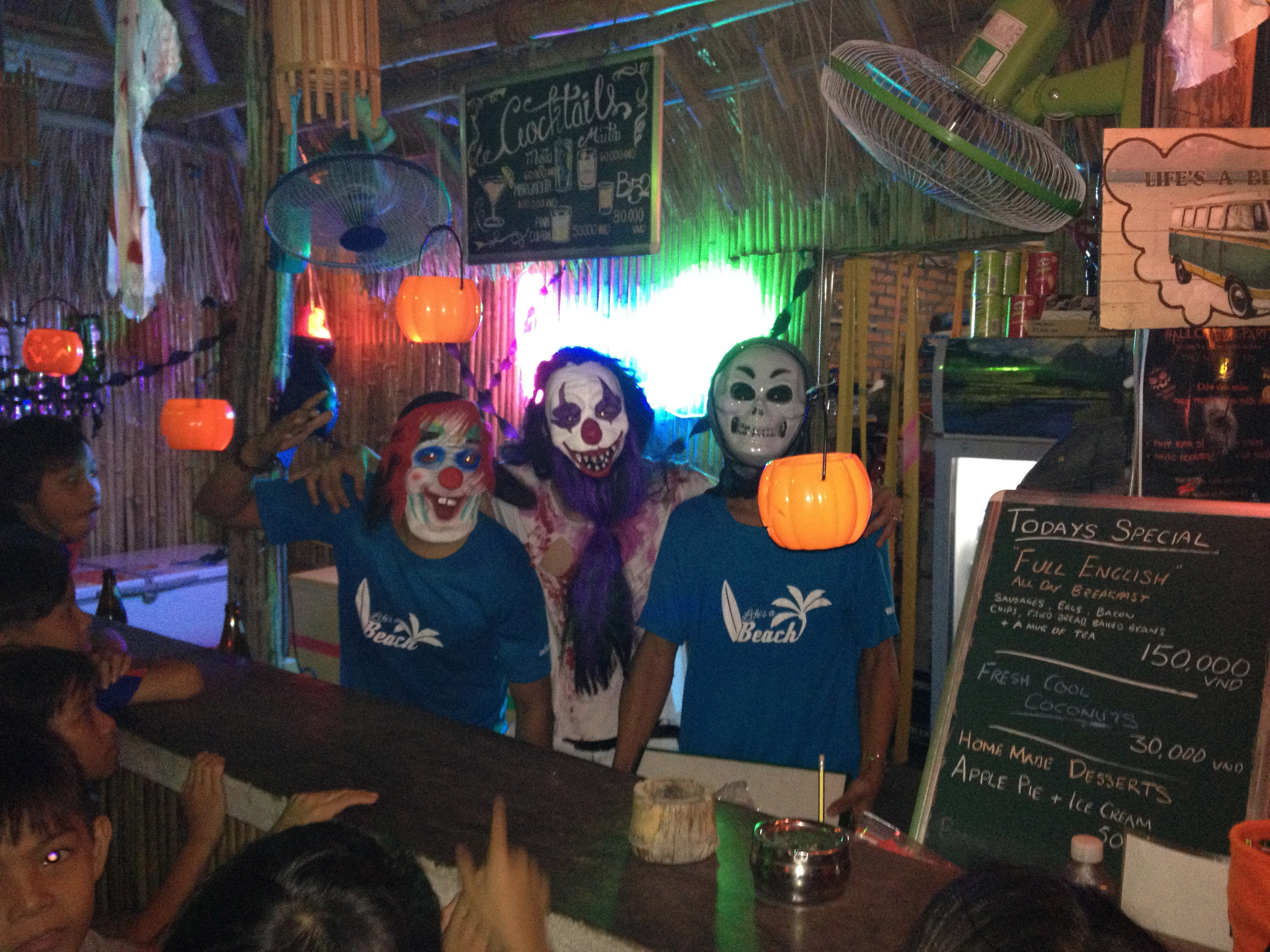 Life's a Beach Vietnam Halloween Party